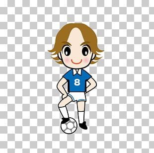 Soccer Kid Football Illustration PNG