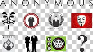Anonymous Guy Fawkes Mask Logo Concept Apple PNG