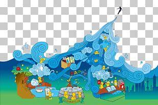 Wind Wave Illustration PNG