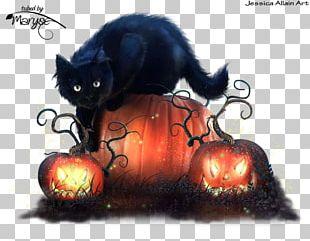Halloween Kitten Cat Trick Or Treachery PNG