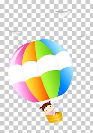 Flight Airplane Hot Air Balloon PNG