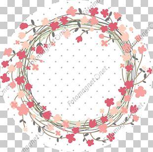 Laurel Wreath Floral Design Flower Wedding PNG