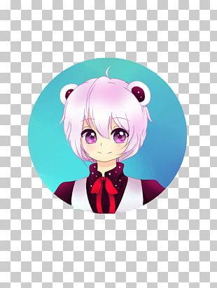 Cartoon Pink M Character Figurine PNG