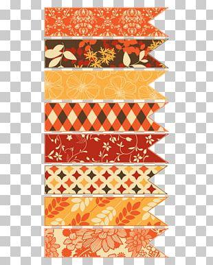 Adhesive Tape Paper Ribbon Autumn Washi PNG