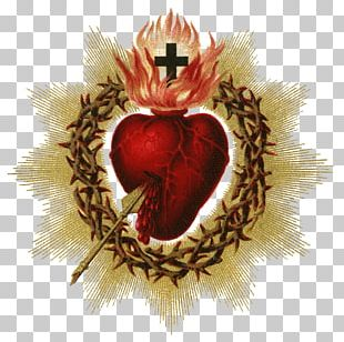 Feast Of The Sacred Heart Catholic Devotions Holy Card PNG