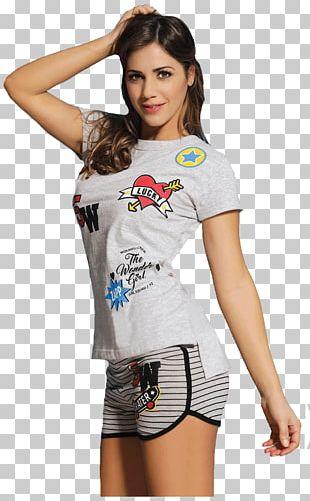 T-shirt Pajamas Sleeve Shorts Summer PNG
