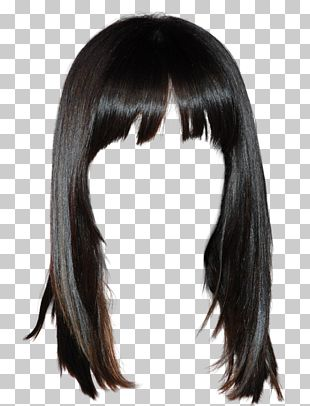 Lace Wig Hairstyle Long Hair PNG