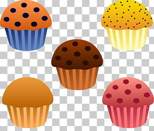 Muffin Bakery Breakfast Chocolate Cake PNG