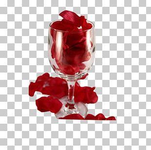 WUXGA Wine Glass Petal High-definition Television 1080p PNG