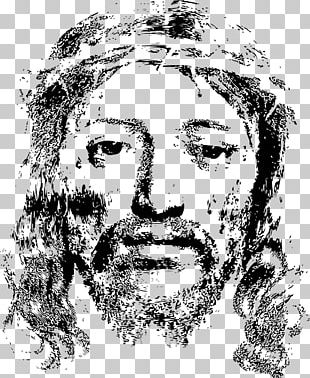 In His Steps: What Would Jesus Do? Holy Face Of Jesus Crown Of Thorns Christianity PNG