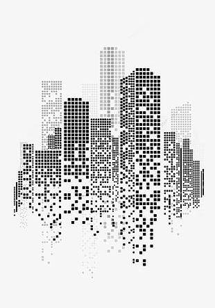 Creative City Deductible Elements PNG