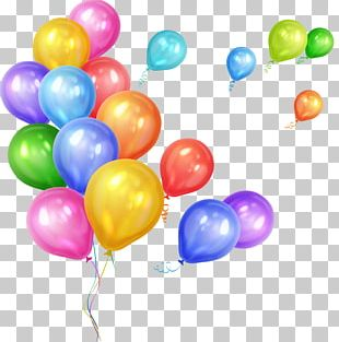Gas Balloon Party Birthday PNG