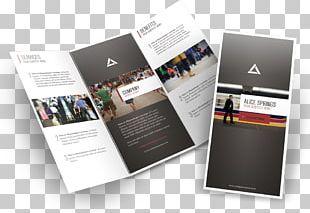 Brochure Mockup Printing Graphic Design PNG