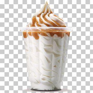 Sundae Ice Cream Milkshake Hamburger PNG