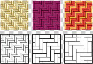 Herringbone Pattern Euclidean Pattern PNG