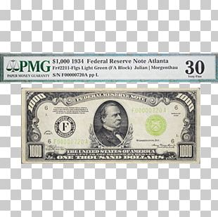 United States One-dollar Bill United States Dollar Large Denominations Of United States Currency Banknote PNG