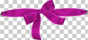 Ribbon Hair Tie Pink M PNG