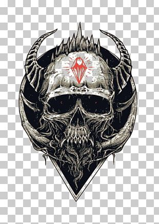 T-shirt Skull Devil Hoodie Spreadshirt PNG