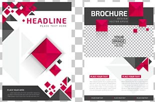 Magazine Design Flyer Brochure PNG