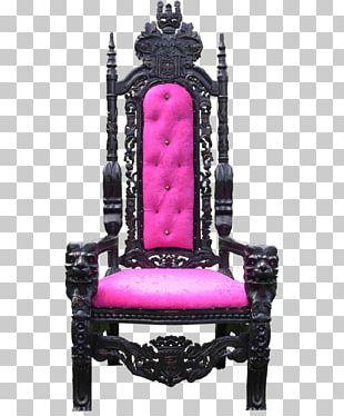 Throne Morris Chair Coronation Chair Recliner PNG