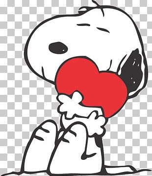 Snoopy Charlie Brown Woodstock Valentine's Day Peanuts PNG