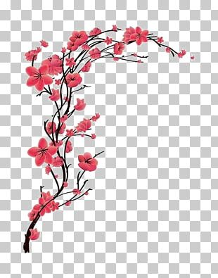 Cherry Blossom Tattoo PNG