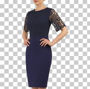 Cobalt Blue Little Black Dress Navy Blue PNG