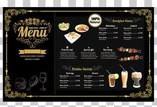 Hamburger Fast Food Menu Restaurant PNG