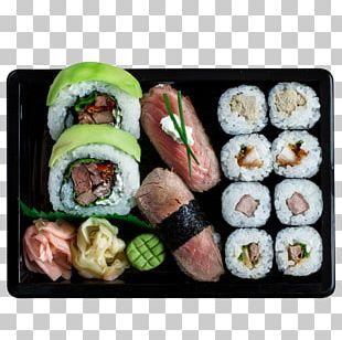 Gimbap California Roll Sushi Japanese Cuisine Sashimi PNG