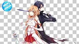 Asuna Kirito Sword Art Online: Lost Song Rendering PNG