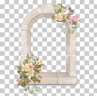 Floral Border Design Creative Floral Material PNG