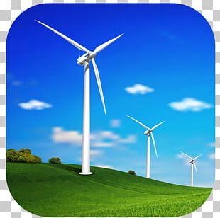 Wind Power Wind Turbine Renewable Energy Windmill PNG