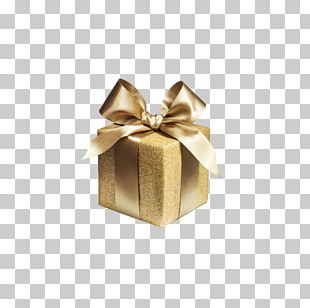 Gift Wrapping Gold Stock Photography Ribbon PNG