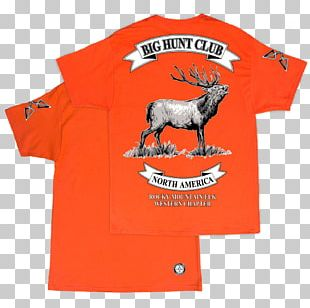T-shirt Elk White-tailed Deer Rocky Mountains PNG