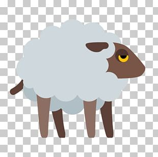 Sheep Cattle Goat Livestock Icon PNG