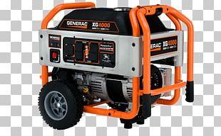 Electric Generator Generac Power Systems Engine-generator Machine PNG