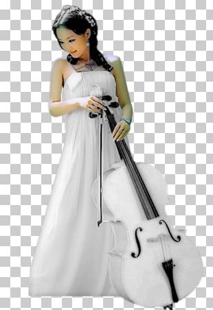 Cello Violin Musical Instruments Woman PNG