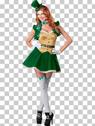 Saint Patrick's Day Costume Party Irish People Leprechaun PNG