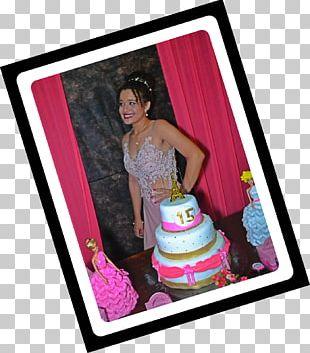 Cake Decorating Frames Pink M PNG
