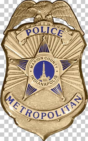 Indianapolis Police Badge PNG
