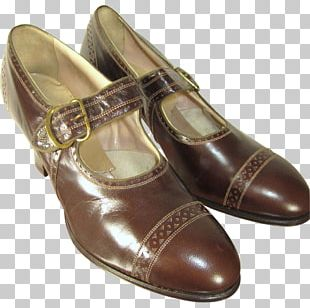 Slip-on Shoe Leather Brogue Shoe Vintage Clothing PNG