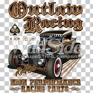 Vintage Car T-shirt Motor Vehicle Hot Rod PNG