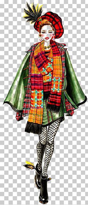 Fashion Illustration Milan Fashion Week Drawing PNG
