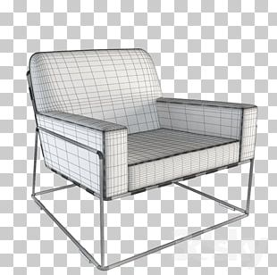 Wing Chair Armrest Couch Furniture PNG