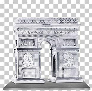 Arc De Triomphe Sheet Metal Laser Cutting Landmark PNG