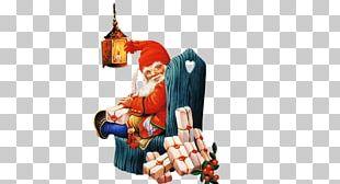 Santa Claus New Year Christmas Dwarf PNG
