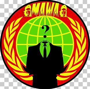 Anonymous Internet Logo .de PNG