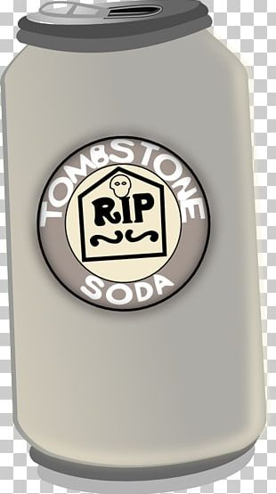 Fizzy Drinks Art Headstone Cemetery Soda Fountain PNG