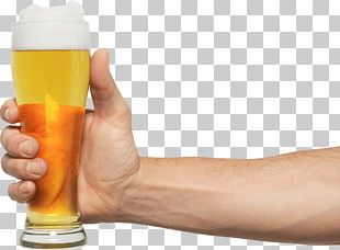 Hand Holding Pint Beer PNG