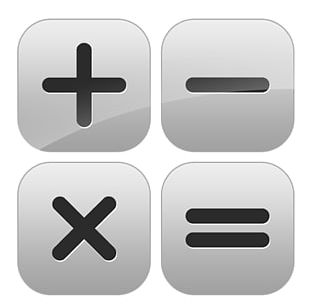 Subtraction Plus And Minus Signs Multiplication Division Mathematics PNG